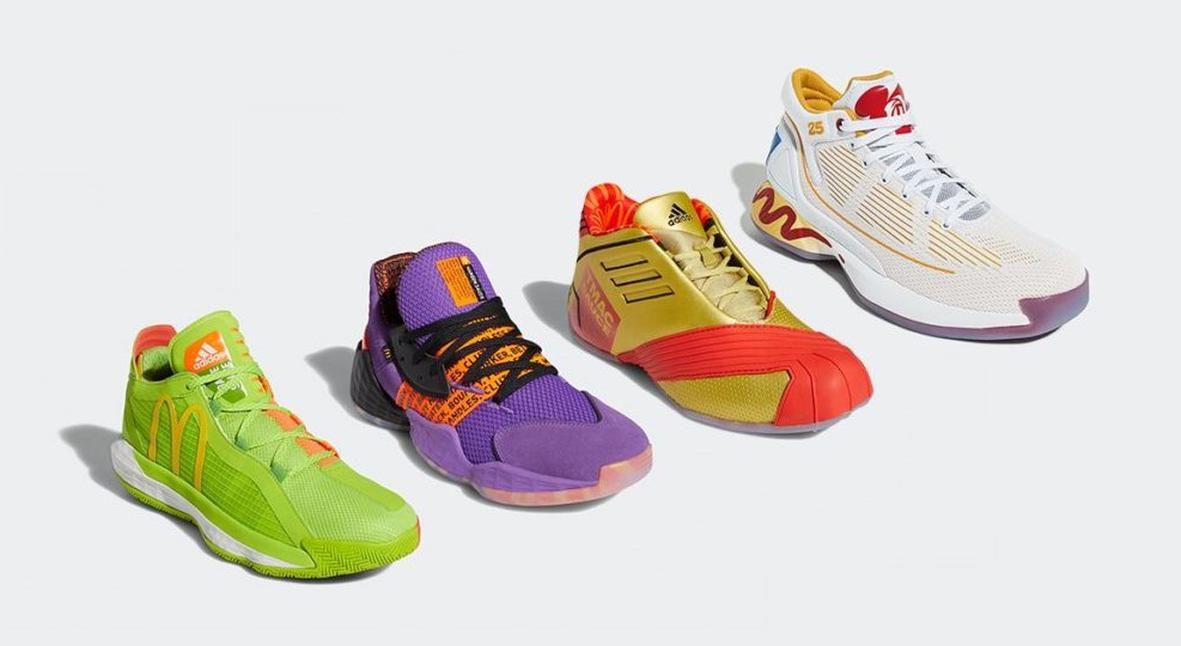 Salt: главное здесь, остальное по вкусу - McDonalds и adidas создали коллекцию баскетбольной одежды и обуви
