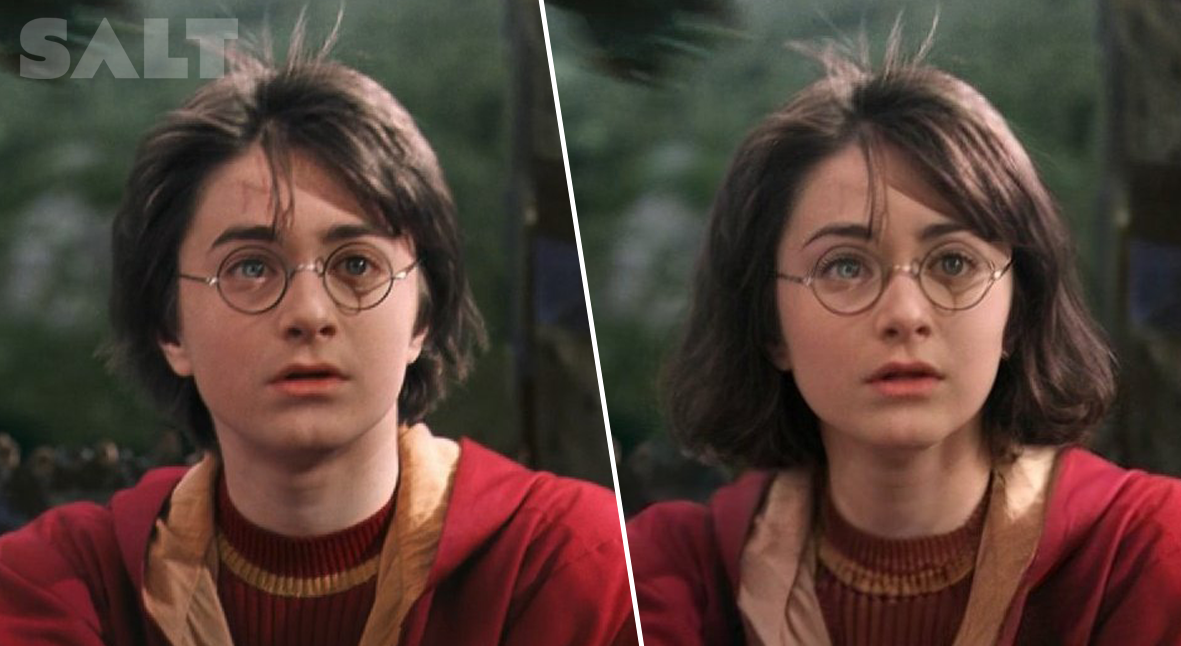 Salt: главное здесь, остальное по вкусу - Женская версия Гарри Поттера и мужская — Рианны: в Twitter вновь вспомнили про FaceApp