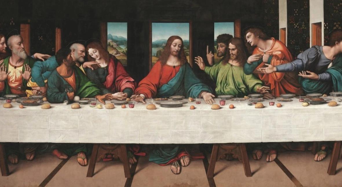 Salt: главное здесь, остальное по вкусу - Копию «Тайной вечери» Леонардо да Винчи оцифровали — теперь можно увидеть утерянные детали оригинала