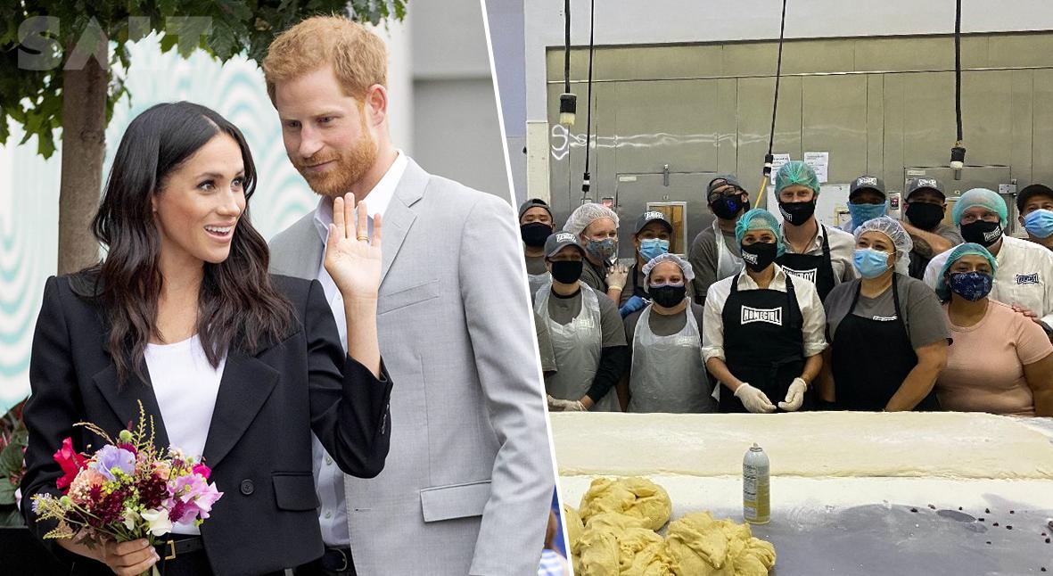 Salt: главное здесь, остальное по вкусу - Меган Маркл и принц Гарри приготовили обеды для нуждающихся в Лос-Анджелесе