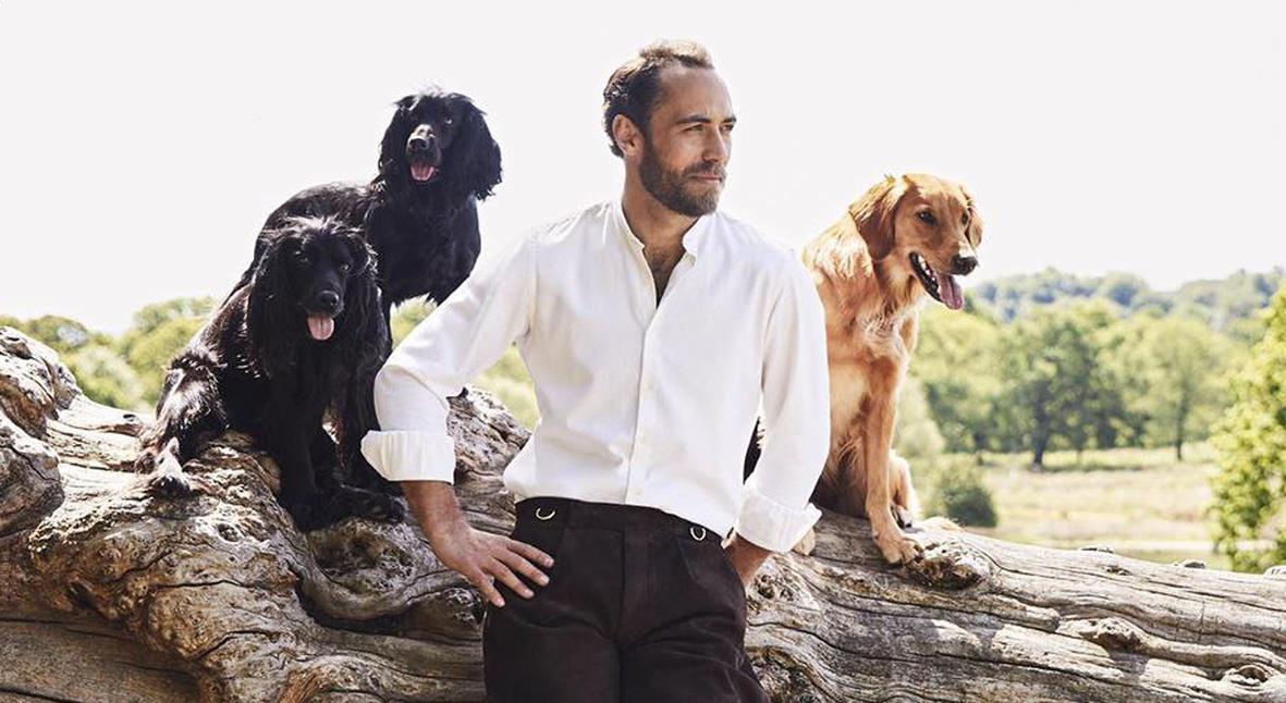 Salt: главное здесь, остальное по вкусу - Джеймс Миддлтон запустил бренд в честь собаки, спасшей его от депрессии
