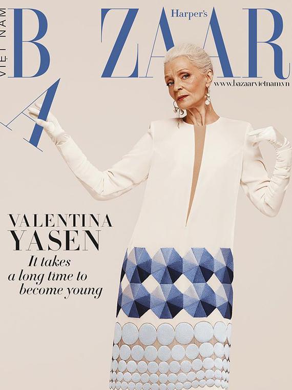 Salt: главное здесь, остальное по вкусу - Для обложки вьетнамского Harper's Bazaar снялась Валентина Ясень — 65-летняя модель из Петербурга