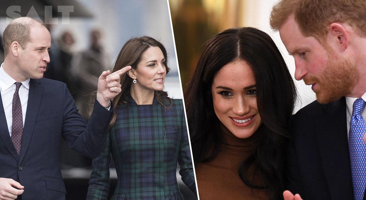 Salt: главное здесь, остальное по вкусу - Герцоги Кембриджские высказали принцу Гарри опасения насчет Меган Маркл после знакомства с ней
