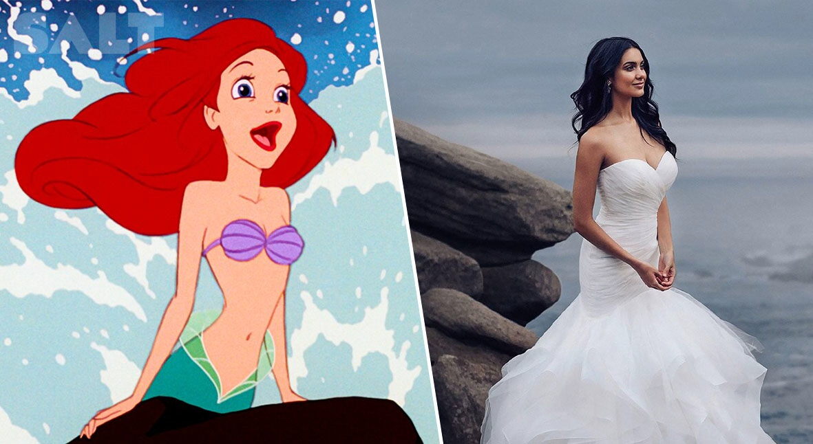 Salt: главное здесь, остальное по вкусу - Disney выпустили коллекцию свадебных платьев, вдохновленную образами принцесс