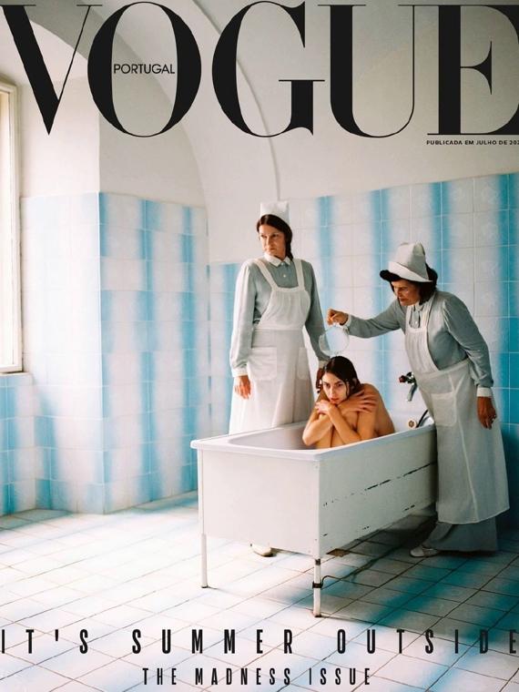 Salt: главное здесь, остальное по вкусу - Португальский Vogue обвинили в эстетизации психических расстройств