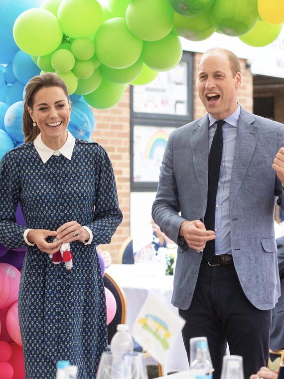 Salt: главное здесь, остальное по вкусу - Кейт Миддлтон и принц Уильям нанесли визит в больницу, чтобы поддержать врачей