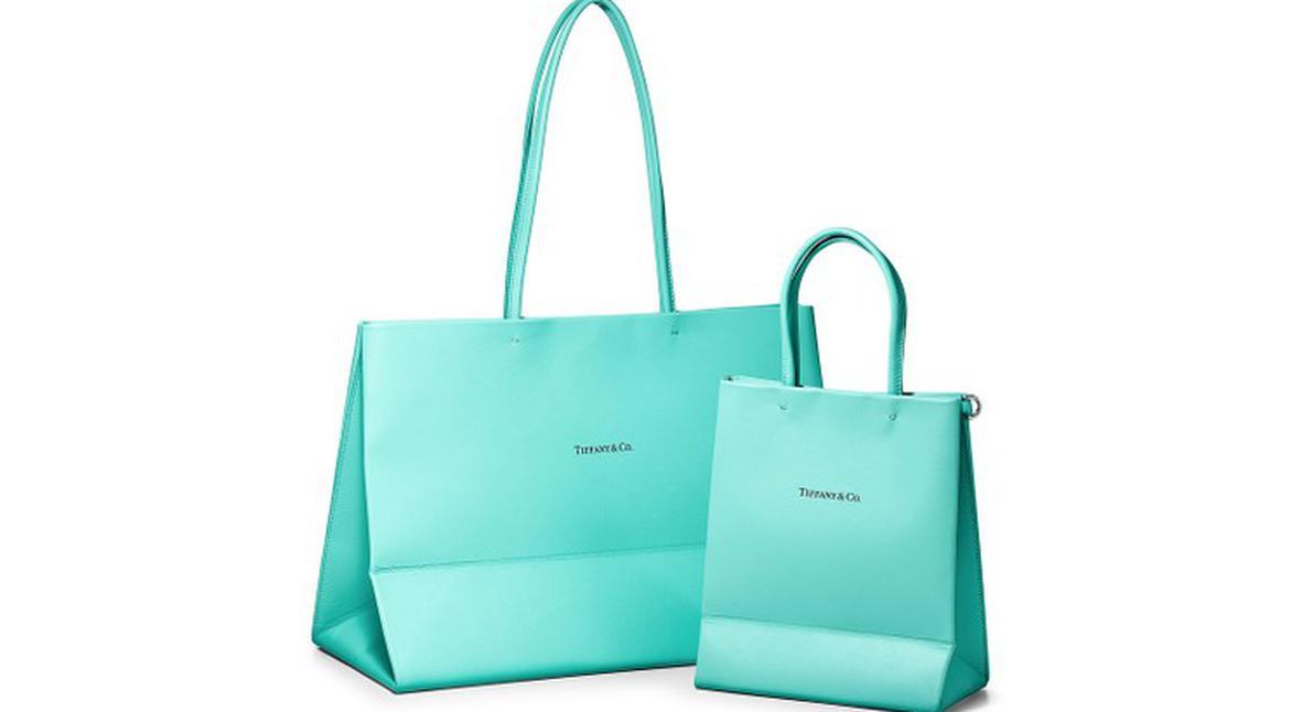 Salt: главное здесь, остальное по вкусу - Tiffany & Co. превратили свои фирменные пакеты в кожаные сумки