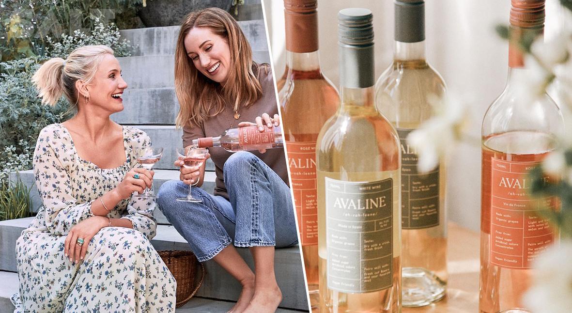 Salt: главное здесь, остальное по вкусу - Кэмерон Диаз запустила бренд вина Avaline из органического винограда