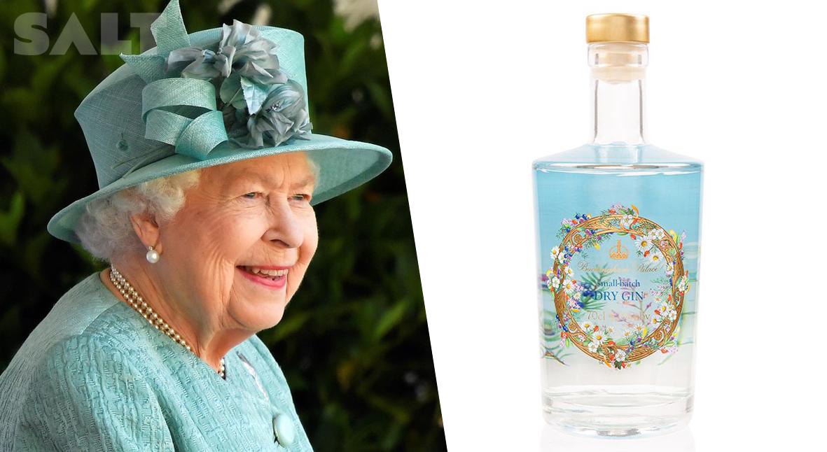 Salt: главное здесь, остальное по вкусу - Букингемский дворец выпустил джин — он создается из ингредиентов, собранных в саду королевы