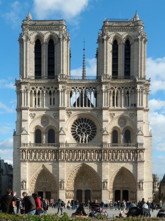 Salt: главное здесь, остальное по вкусу - Собор Парижской Богоматери восстановят в прежнем виде — без элементов современности