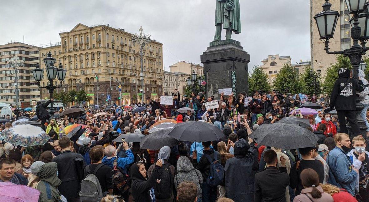 Salt: главное здесь, остальное по вкусу - В Москве задержали 147 участников шествия против поправок в Конституцию