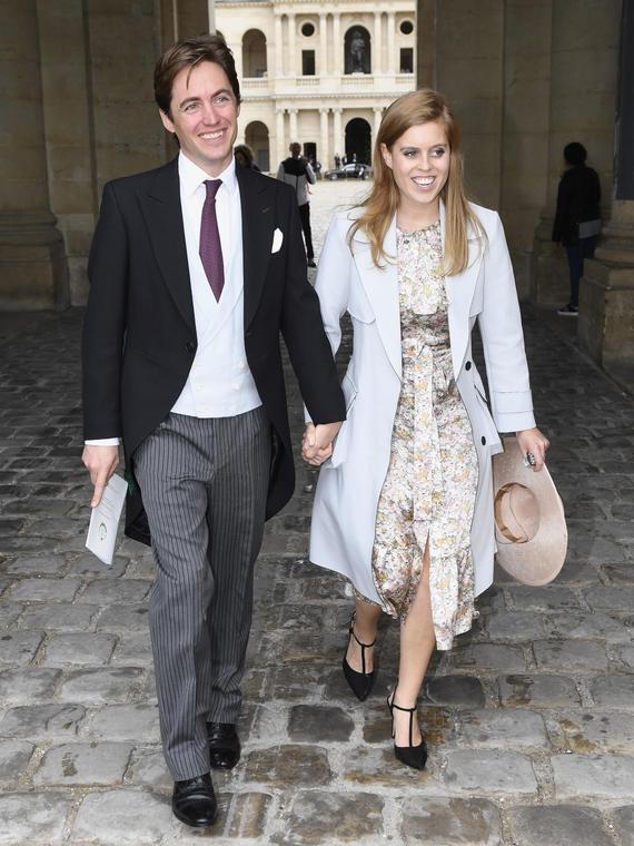 Salt: главное здесь, остальное по вкусу - Принцесса Беатрис и Эдоардо Мапелли-Моцци поженились на тайной церемонии