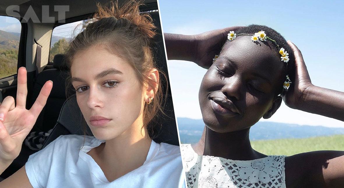 Salt: главное здесь, остальное по вкусу - Кайя Гербер, Адут Акеч и другие модели откровенно поговорили с Vogue о психическом здоровье
