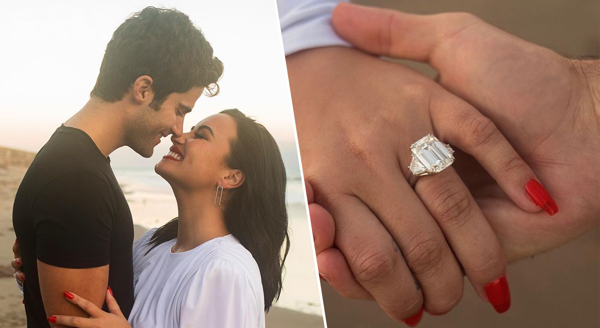 Salt: главное здесь, остальное по вкусу - Деми Ловато объявила, что выходит замуж — и показала помолвочное кольцо