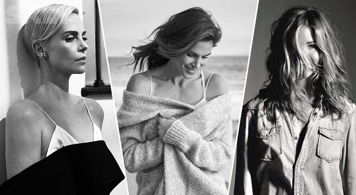 Salt: главное здесь, остальное по вкусу - Черно-белый челлендж: Синди Кроуфорд, Натали Портман и другие поддержали женщин в Instagram