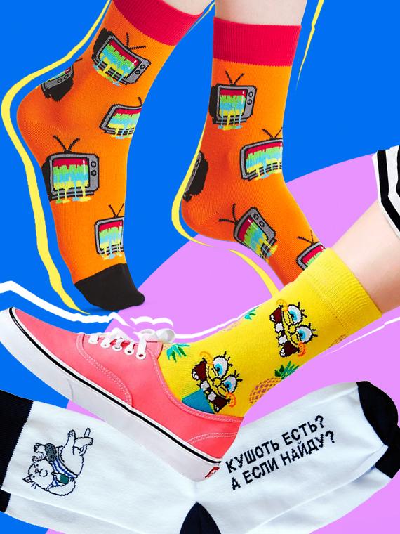 Salt: главное здесь, остальное по вкусу - 11 отечественных брендов носков с необычными принтами и надписями