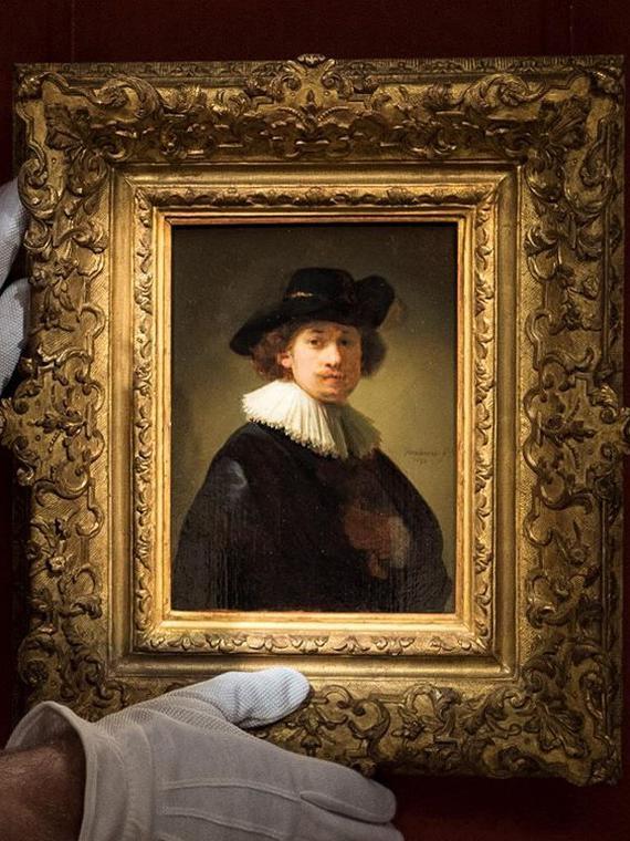Salt: главное здесь, остальное по вкусу - Автопортрет Рембрандта ван Рейна был продан на аукционе за рекордные $18,7 миллионов