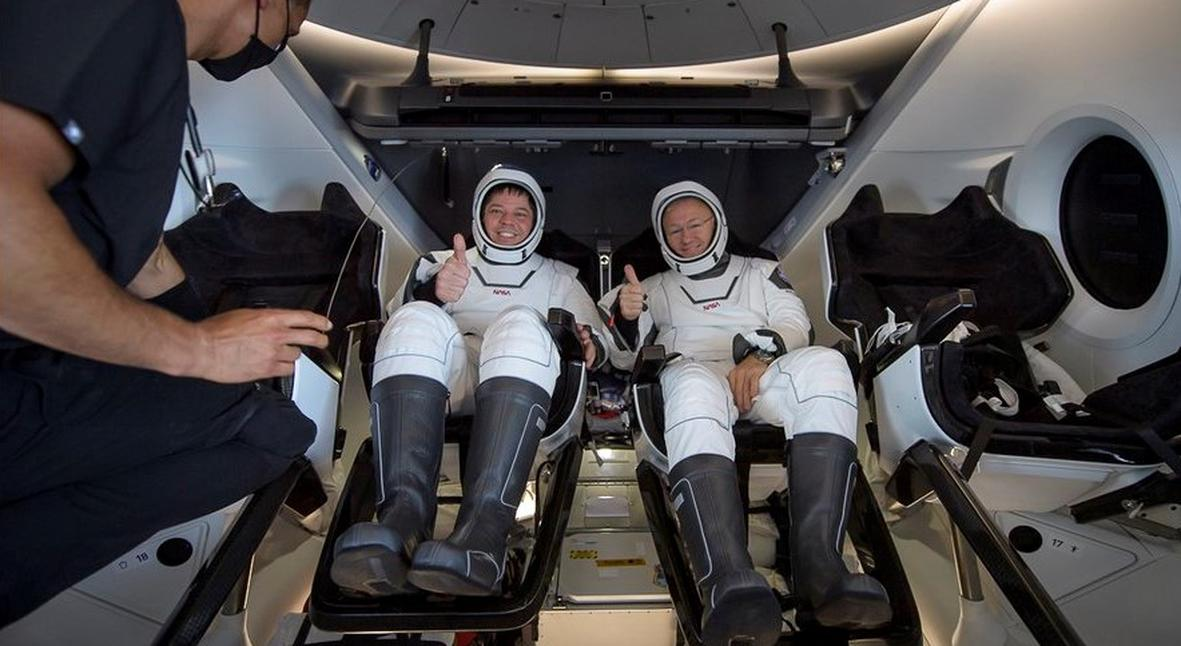 Salt: главное здесь, остальное по вкусу - Космический корабль Crew Dragon успешно вернулся на Землю