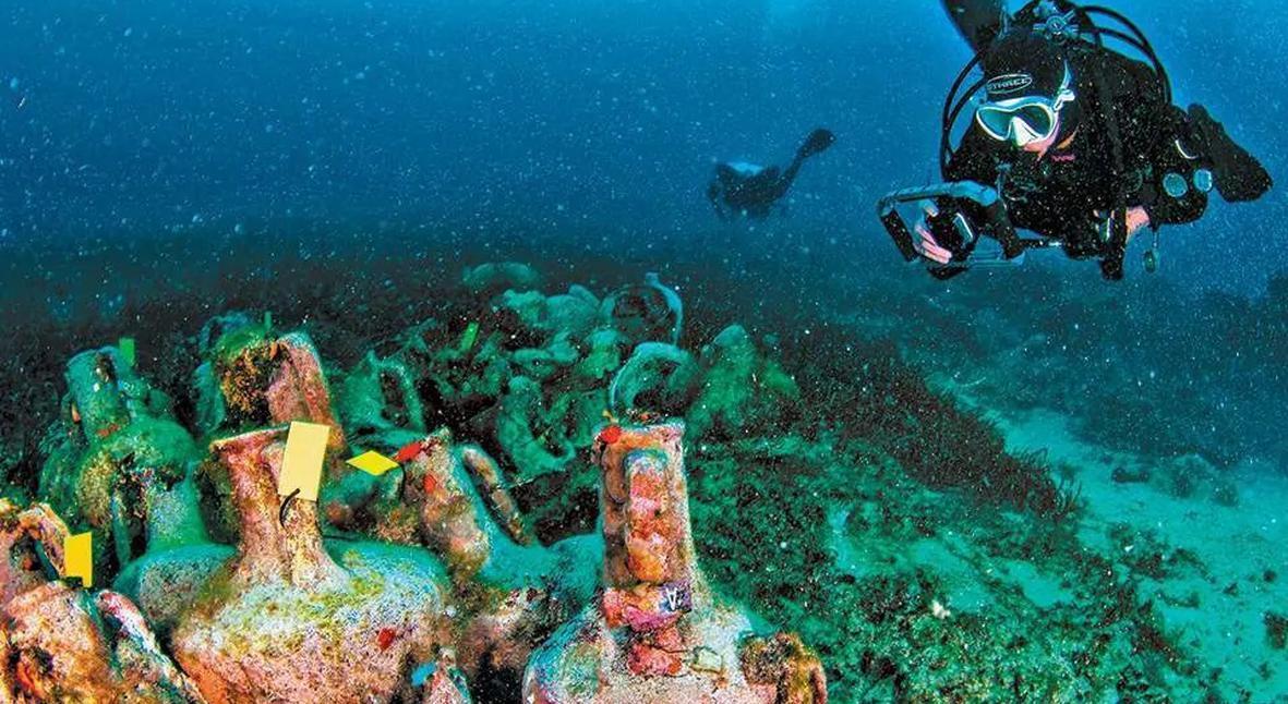 Salt: главное здесь, остальное по вкусу - В Греции открылся первый подводный музей — он находится на месте затонувшего корабля