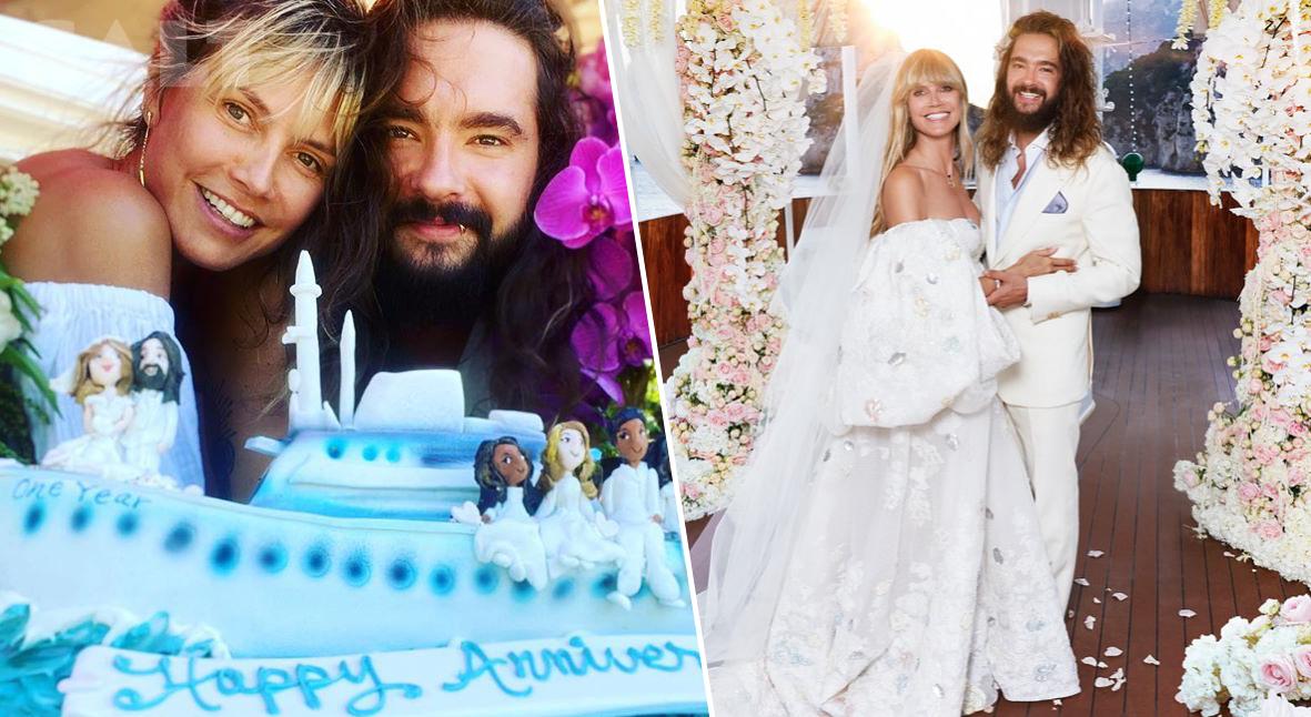 Salt: главное здесь, остальное по вкусу - «Влюбляюсь в тебя каждый день»: Хайди Клум и Том Каулитц отметили годовщину свадьбы