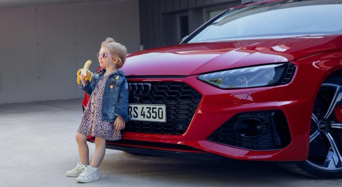 Salt: главное здесь, остальное по вкусу - Audi извинились за рекламу автомобиля с маленькой девочкой, которая ест банан