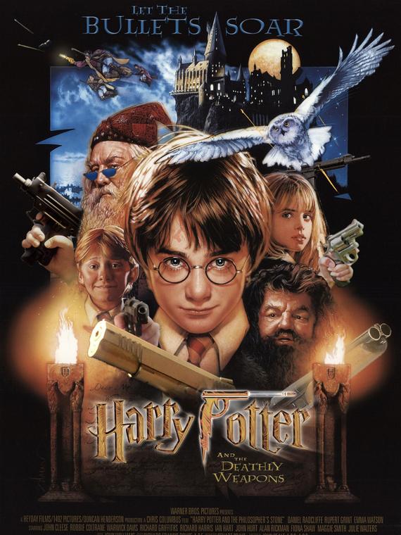 Salt: главное здесь, остальное по вкусу - В «Гарри Поттере» заменили волшебные палочки на оружие. Это часть проекта против насилия