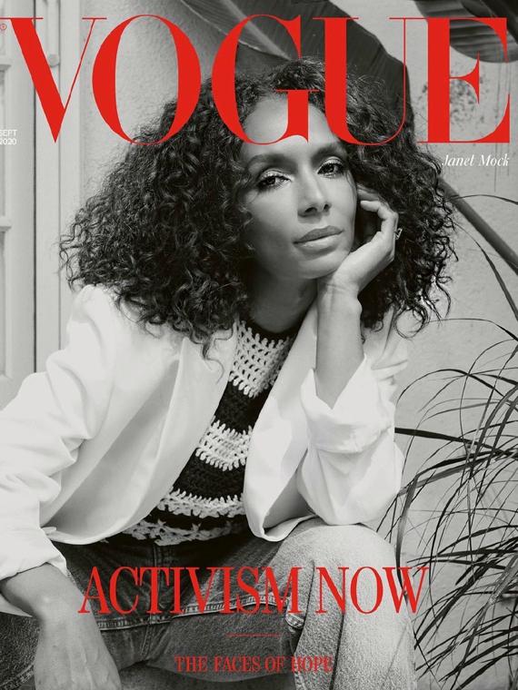 Salt: главное здесь, остальное по вкусу - Трансгендерный фотограф впервые стал автором обложки Vogue