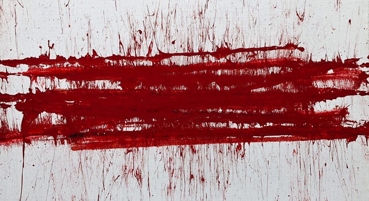 Salt: главное здесь, остальное по вкусу - Написанная полицейской дубинкой картина «Беларусь» ушла с молотка за 3 млн рублей
