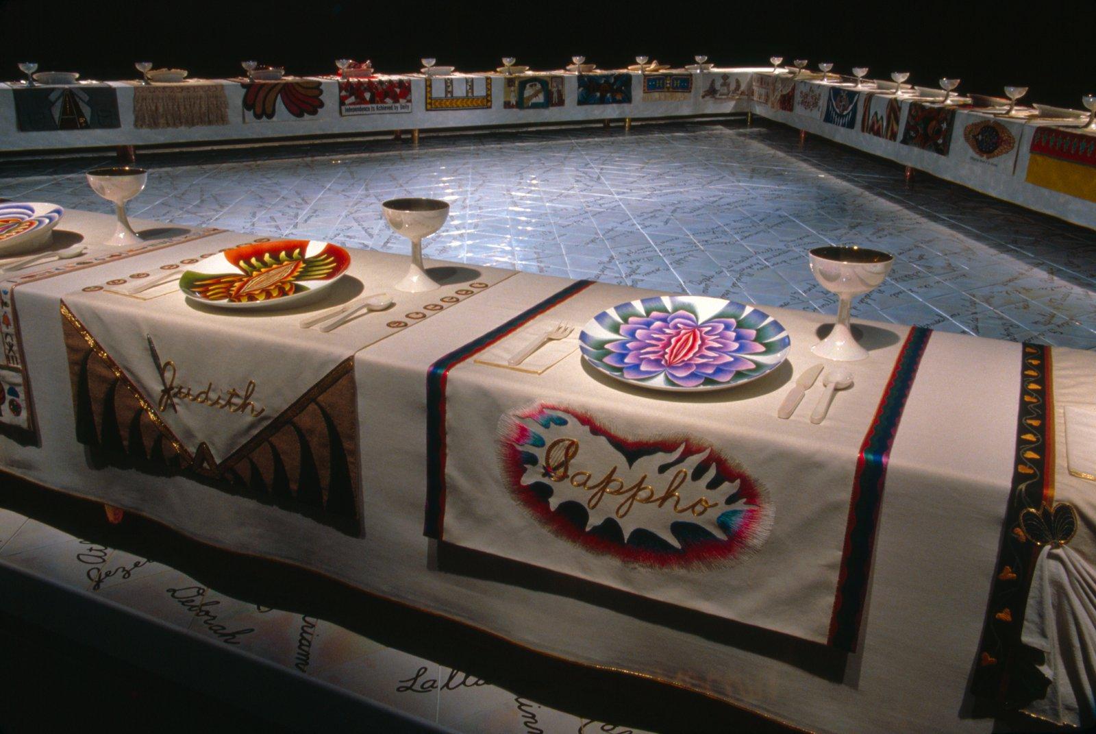 Salt: главное здесь, остальное по вкусу - Джуди Чикаго «Званый ужин». 1979. Courtesy photo