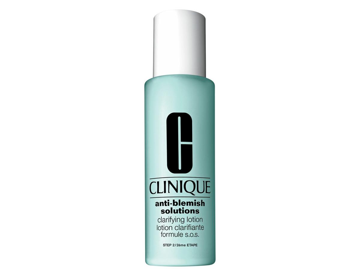 Salt: главное здесь, остальное по вкусу - Clinique, отшелушивающий лосьон для проблемной кожи Anti-Blemish Solutions
