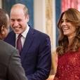 Кейт Миддлтон, принц Уильям, принцесса Анна и другие посетили прием в Букингемском дворце